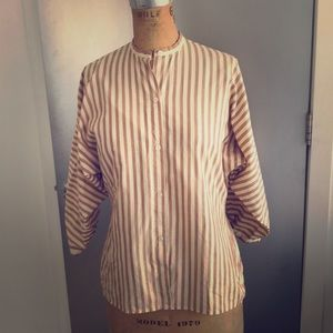 Vintage Perry Ellis woven top